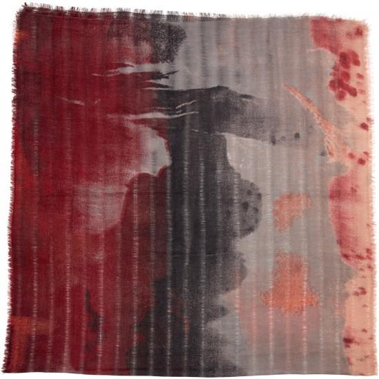 Εσάρπα BELLA BALLOU KISSED BY THE RAIN Κόκκινο  0220-2050
