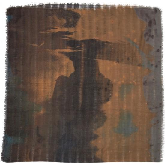 Εσάρπα BELLA BALLOU KISSED BY THE RAIN Πράσινο 0220-2067