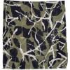 Εσάρπα  BELLA BALLOU DOTS & LINES Πράσινο/Μαύρο 0220-2180