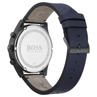BOSS Pioneer Blue Leather Chronograph 1513711