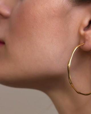 ΣΚΟΥΛΑΡΙΚΙΑ GREGIO Funky Metal  Gloss Boss 50336 ασήμι gold plated