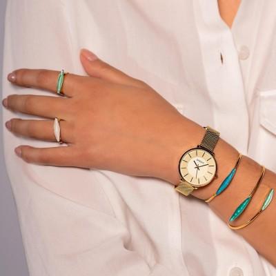 GREGIO Lucia Gold Stainless Steel Bracelet GR210020