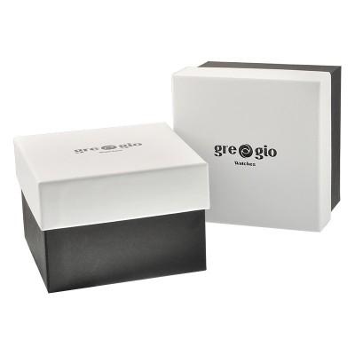 GREGIO Mandal Rose Gold Stainless Steel Bracelet GR118030