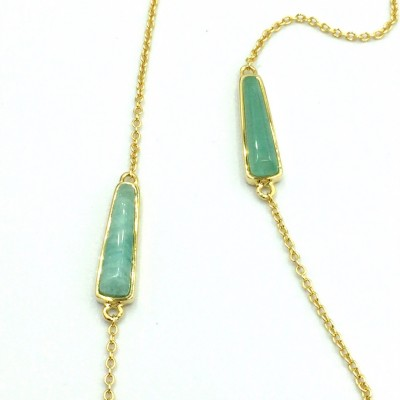NECKLACE JOOLS SN2064.2 ασήμι gold plated