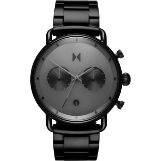 MVMT Blacktop Black Stainless Steel Chronograph D-BT01-BB
