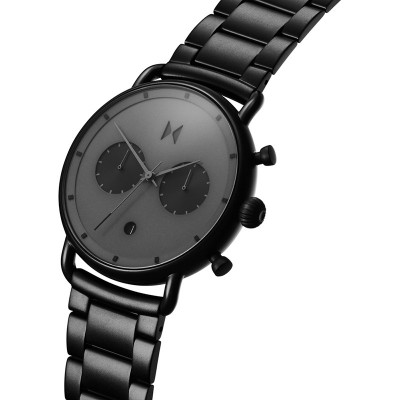 MVMT Blacktop Black Stainless Steel Chronograph D-BT01-BB
