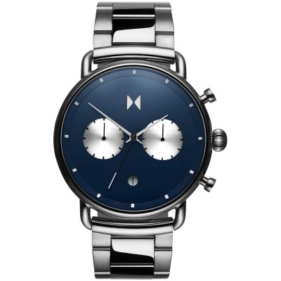 MVMT Blacktop Stainless Steel Chronograph D-BT01-BLUS