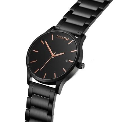 MVMT Classic Black Stainless Steel Bracelet D-MM01-BBRG