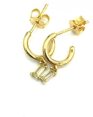 """Σκουλαρίκια PDPAOLA """"Alia Gold"""" AR01-116-U"""