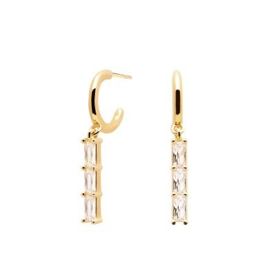 """Σκουλαρίκια PDPAOLA """"BINTI GOLD"""" AR01-120-U"""