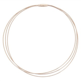 Κολιε Pesavento DNA Spring Pink Silver Ροζ χρυσό-ασημένιο
