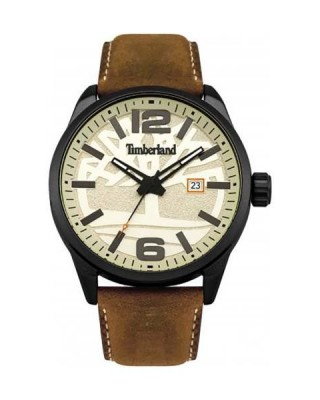 TIMBERLAND Brown Leather Strap TBL15029JLB-14