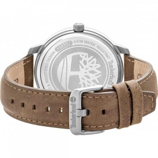 TIMBERLAND Glarksville Brown Leather Strap