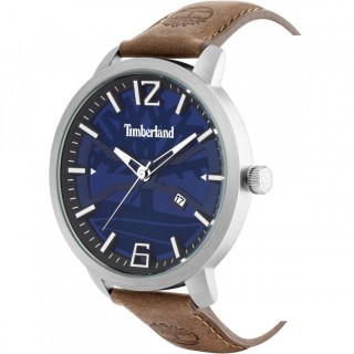 TIMBERLAND Glarksville Brown Leather Strap