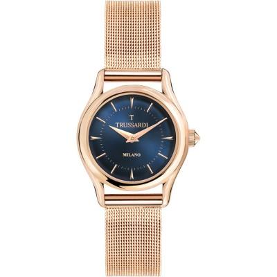 TRUSSARDI T-Light Rose Gold Stainless Steel Bracelet R2453127502