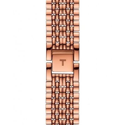 TISSOT T-Classic Everytime Gent Rose Gold Stainless Steel Bracelet