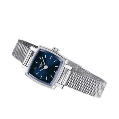 TISSOT T-Lady Lovely Square Silver Stainless Steel Bracelet