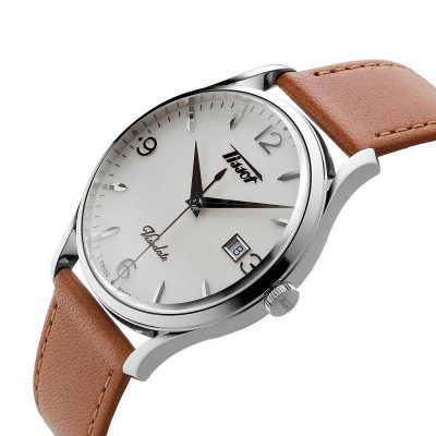 TISSOT Heritage Visodate Brown Leather Strap