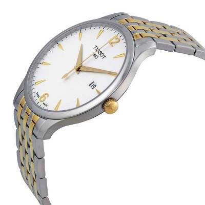 TISSOT T-Classic Tradition Two Tone Stainless Steel Bracelet