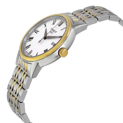 TISSOT T-Classic Carson Two Tone Stainless Steel Bracelet