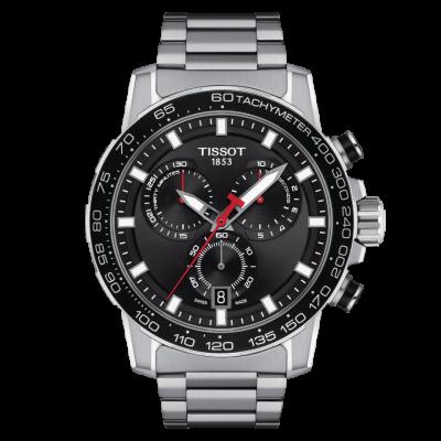 Tissot SuperSport Chronograph Stainless Steel Bracelet T125.617.11.051.00