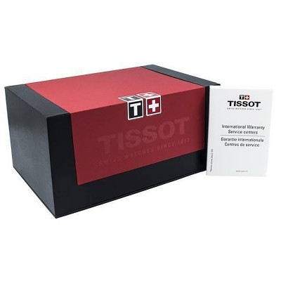 TISSOT T-Sport PRC200 Brown Leather Chronograph T0552171603302