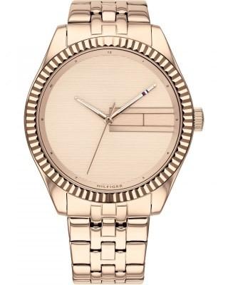 Tommy HILFIGER Lee Women Watch pink gold bracelet 1782082