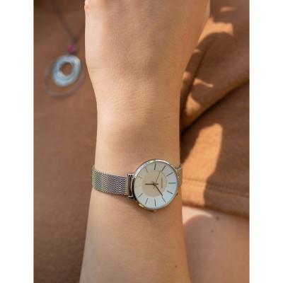 GREGIO Lucia Silver Stainless Steel Bracelet GR210010