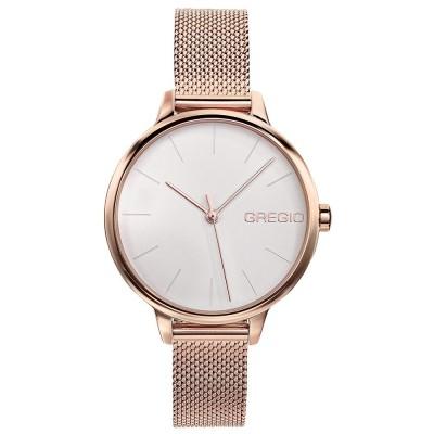 GREGIO Fiorella Rose Gold Stainless Steel Bracelet GR220030