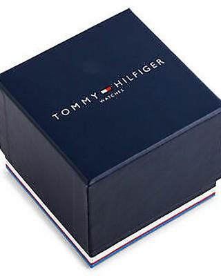 Tommy HILFIGER Luke Sport Multifunction Black Leather Strap